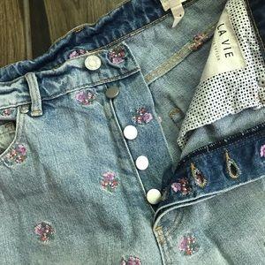 Rebecca Taylor Jeans - Rebecca Taylor La Vie Harriet Sprig Beatrice Jeans